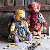 Stuffed Toys handmade. Livemaster - original item Autumn... Lilac.... Handmade.