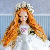 Куклы и пупсы ручной работы. Ярмарка Мастеров - ручная работа Анна авторская интерьерная кукла. Handmade.