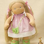 Куклы и игрушки ручной работы. Ярмарка Мастеров - ручная работа Кукла для Ренаты, 40 см. Handmade.