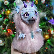 Куклы и игрушки handmade. Livemaster - original item Gryphon toy Dragon toy author`s doll. Handmade.