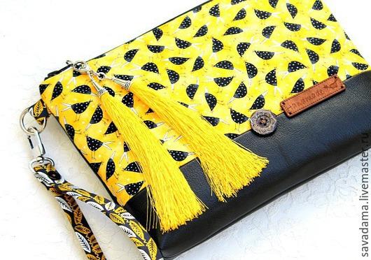 желтый, кожа, натуральная кожа, кожанная сумка, купить, кожанный клатч, клатч, желтый, птицы, купить, работа на заказ, сумка, желтый, кисти, ворона, черный, белый, нат кожа, италия