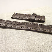 Аксессуары ручной работы. Ярмарка Мастеров - ручная работа Крокодил коричневый 20/20 с подиумом. Handmade.