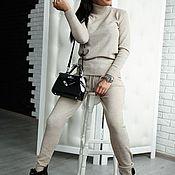 Одежда ручной работы. Ярмарка Мастеров - ручная работа Вязаный костюм . Скидка. Handmade.