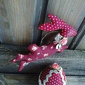 Куклы и игрушки ручной работы. Ярмарка Мастеров - ручная работа Пасхальный кролик Тильда.. Handmade.