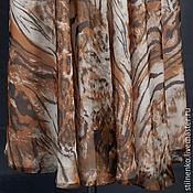 Одежда ручной работы. Ярмарка Мастеров - ручная работа Юбка шифон-леопард. Handmade.