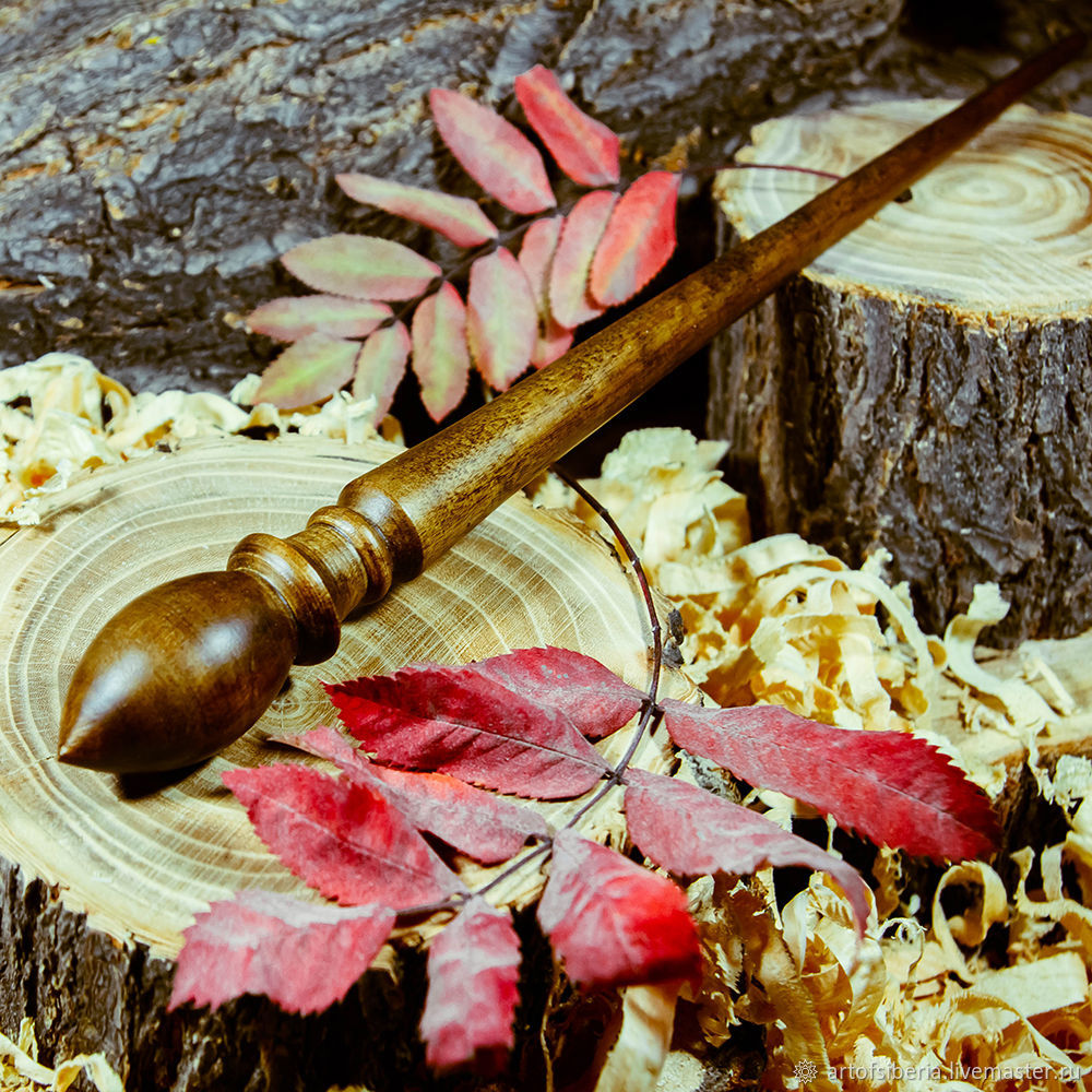 Spindles are Great for spinning Birch Wood spindle #B18, Spindle, Novokuznetsk,  Фото №1