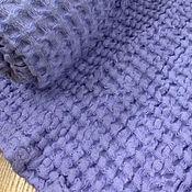 handmade. Livemaster - original item Lavender linen towel - Soft and airy linen towel. Handmade.