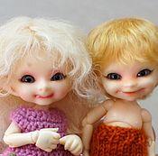 Куклы и игрушки ручной работы. Ярмарка Мастеров - ручная работа Парички для RealPuki. Handmade.
