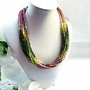 handmade. Livemaster - original item Tourmaline necklace