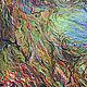 Абстракция ручной работы. Ярмарка Мастеров - ручная работа. Купить Биосфера. Handmade. Оливковый, абстракция, картина для интерьера, акриловые краски