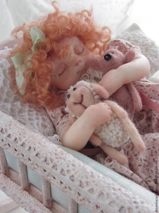 """Коллекционные куклы ручной работы. Ярмарка Мастеров - ручная работа. Купить """" Сплюшечка Фэй"""". Handmade. Разноцветный, девочка"""