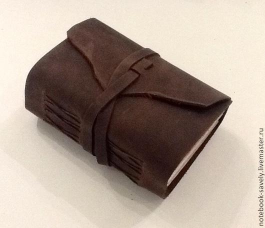 Блокноты ручной работы. Ярмарка Мастеров - ручная работа. Купить Толстый блокнот!!!. Handmade. Коричневый, блокнот, нитки