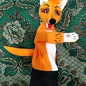 Куклы и игрушки handmade. Livemaster - original item Fox.Glove puppet. Handmade.