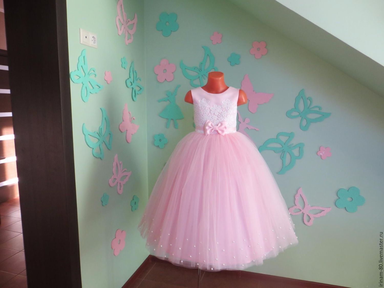 f1996a009abcddd Одежда для девочек, ручной работы. Ярмарка Мастеров - ручная работа. Купить  Нарядное платье ...