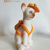 Куклы и игрушки ручной работы. Ярмарка Мастеров - ручная работа Котёнок - путешественник. Handmade.