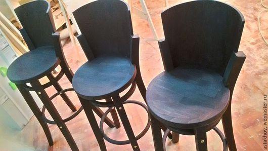 стул из бука, стул цвет венге