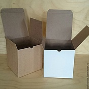 Материалы для творчества ручной работы. Ярмарка Мастеров - ручная работа коробка из микрогофрокартона. Handmade.
