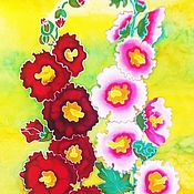Картины и панно handmade. Livemaster - original item Painting batik