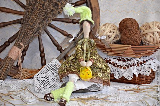 Куклы Тильды ручной работы. Ярмарка Мастеров - ручная работа. Купить Кукла Тильда гномочка Пасхальная текстильная, интерьерная. Handmade.