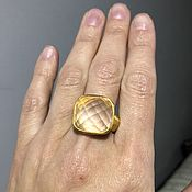 Кольца ручной работы. Ярмарка Мастеров - ручная работа Кольцо с розовым кварцем с мантрой Шивы. Handmade.