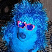 Куклы и игрушки ручной работы. Ярмарка Мастеров - ручная работа Танцующий Ёж. Кукла из папье-маше. Handmade.