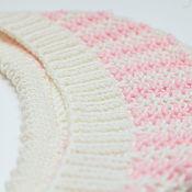 Работы для детей, handmade. Livemaster - original item Hat for newborn baby Pink. Handmade.