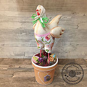Куклы и игрушки ручной работы. Ярмарка Мастеров - ручная работа Пасхальная Курочка. Handmade.
