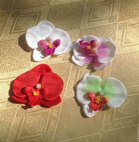 Материалы для флористики ручной работы. Ярмарка Мастеров - ручная работа. Купить Орхидея(фаленопсис) головка. Handmade. Комбинированный, орхидея головка, орхидеи
