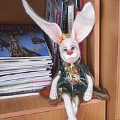 """Куклы и игрушки ручной работы. Ярмарка Мастеров - ручная работа Валяная интерьерная """"Лапочка"""". Handmade."""