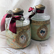 Для дома и интерьера handmade. Livemaster - original item A set of jars