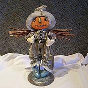 Куклы и игрушки ручной работы. Ярмарка Мастеров - ручная работа Кукла. За хворостом.... Handmade.