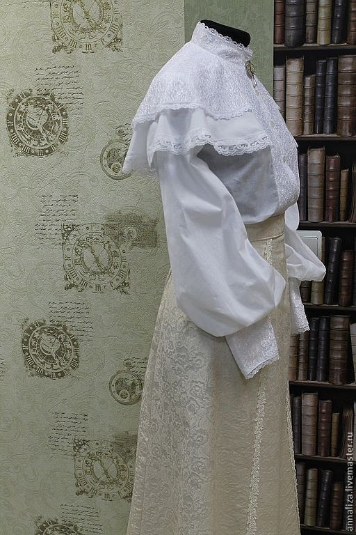 Блузки В Викторианском Стиле Купить