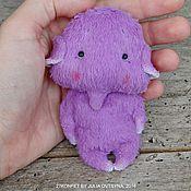 Куклы и игрушки ручной работы. Ярмарка Мастеров - ручная работа Свободны бежевый и фиолетовый. Handmade.