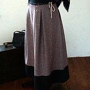 Русский стиль handmade. Livemaster - original item A poneva skirt everyday of wool. Handmade.