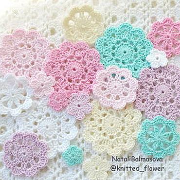 Materials for creativity handmade. Livemaster - original item Knitted decor for scrap kit Beloved. Handmade.