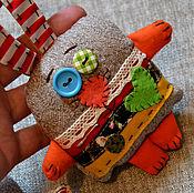 Куклы и игрушки ручной работы. Ярмарка Мастеров - ручная работа Зайцы и Коты. Handmade.