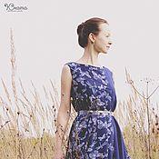 Одежда ручной работы. Ярмарка Мастеров - ручная работа Платье с бабочками. Handmade.