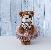 Куклы и игрушки ручной работы. Ярмарка Мастеров - ручная работа Мишка тедди Эбби. Handmade.