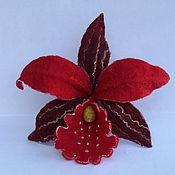 Украшения ручной работы. Ярмарка Мастеров - ручная работа Орхидея модница. Handmade.