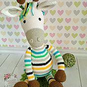 Мягкие игрушки ручной работы. Ярмарка Мастеров - ручная работа Жираф от Stip&Haak. Handmade.