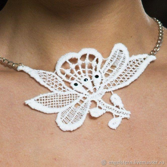 Lace choker 'Roxanne', Necklace, Gera,  Фото №1