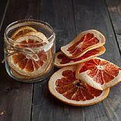 Цветы и флористика handmade. Livemaster - original item Dried plastics grapefruit. Handmade.