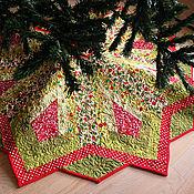 Подарки к праздникам ручной работы. Ярмарка Мастеров - ручная работа Юбка для крестовины новогодней елки №1. Handmade.