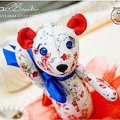 Куклы и игрушки ручной работы. Ярмарка Мастеров - ручная работа Синеглазка Мишка Шебби LiilaБудуар. Handmade.