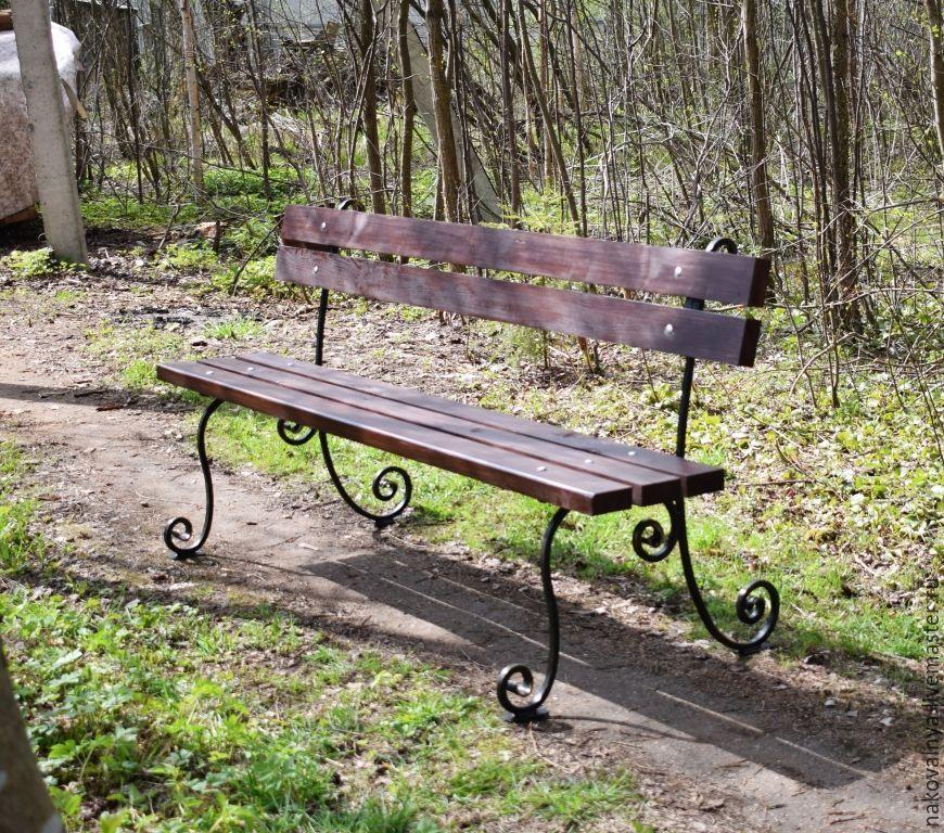 Кованые скамейки для дачи фото обнималась, держалась