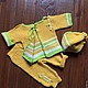 """Одежда для мальчиков, ручной работы. Вязанный комплект """"Ваня"""". OLGA'Z. Интернет-магазин Ярмарка Мастеров. Шапочка для мальчика, шапочка для малыша"""