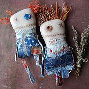 Куклы и игрушки ручной работы. Ярмарка Мастеров - ручная работа Пара обережек Олдж и Фыва. Handmade.