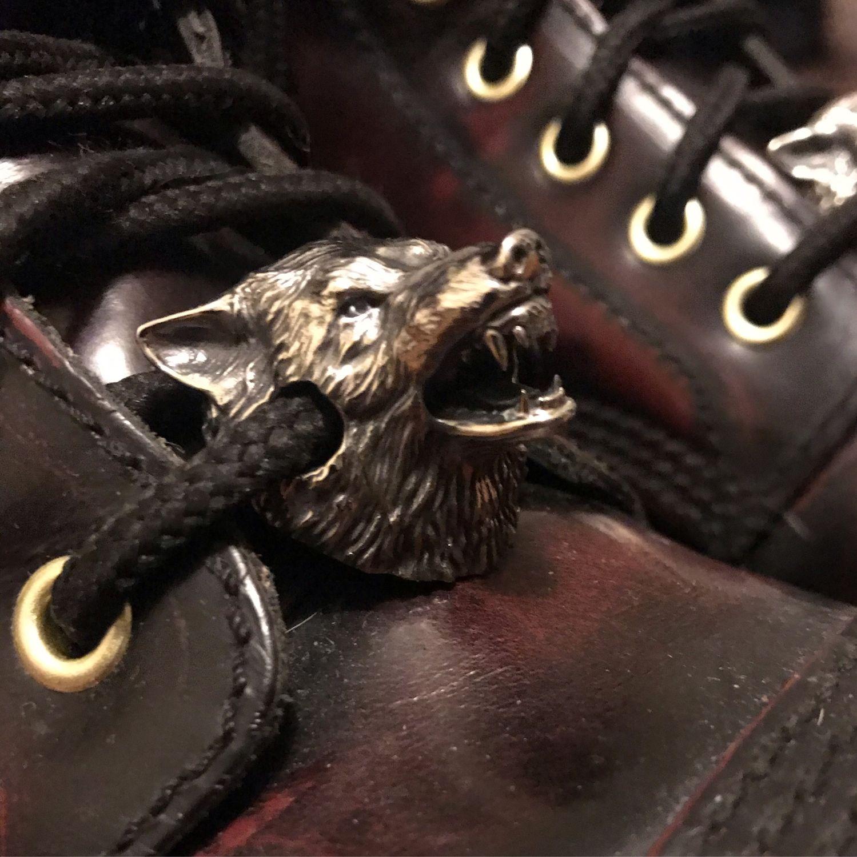 Бусины для ботинок Волк, Шарм-подвеска, Москва,  Фото №1