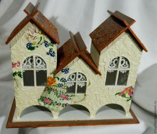чайный домик вид спереди