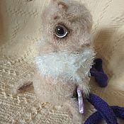 Мягкие игрушки ручной работы. Ярмарка Мастеров - ручная работа Моль застуканая. Handmade.